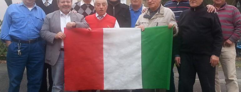 Il Presidente Scigliano riceve il Gruppo degli anziani Club anni 50/60 presso la sede del Comites