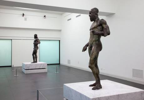 Riace Bronzes return to public, opened Museum Reggio
